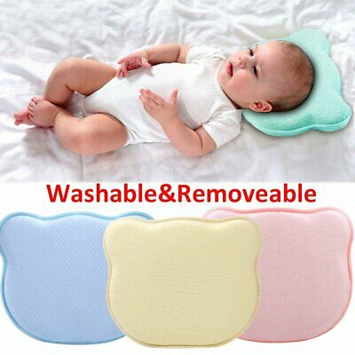 Baby Correction Sleep Children Anti Roll Cushion Pad Newborn Flat Head Pillow UK