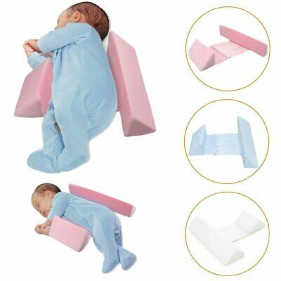 Newborn Infant Baby Sleep Anti Roll Pillow Prevent Flat Head Cushion Adjustable