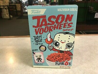 FUNKO POP FYE EXCLUSIVE CEREAL JASON VOORHEES FRIDAY THE 13th