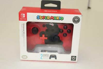 PowerA Enhanced Wireless Controller Super Mario Silhouette for Nintendo Switch!