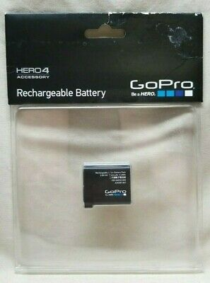 GoPro Genuine Original Rechargeable Battery for HERO4 Black and Silver AHDBT-401
