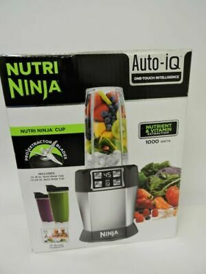 Ninja Nutri Ninja With Auto-iQ Blender - Stainless Steel (BL480D) (06)