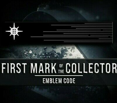 Destiny 2 First Mark of the Collector Emblem Code