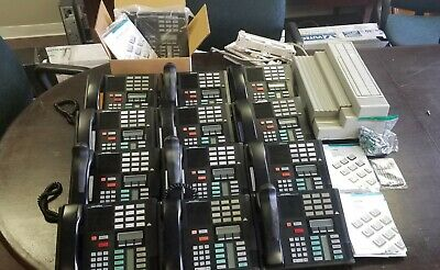(2) Nortel Norstar Systems with (25) phones & (1) Call Pilot Voicemail