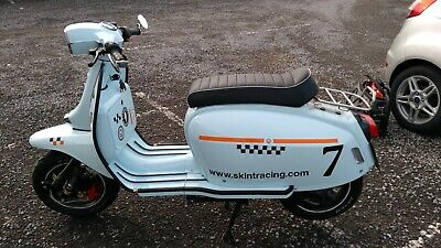 Scomadi tl50 scooter 2015