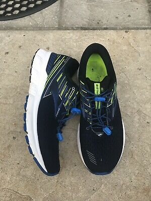 1161c96e92 BROOKS MENS ADRENALINE GTS 18 Running Shoes Trainers Confetti Green ...