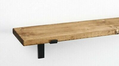Rustic Chunky Handmade Bespoke Shelves Scaffolding Solid Wood Shelf