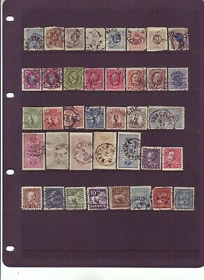 SWEDEN Stamp Collection Lot of 75 SWEDISH Stamps - PLEASE SEE SCANS