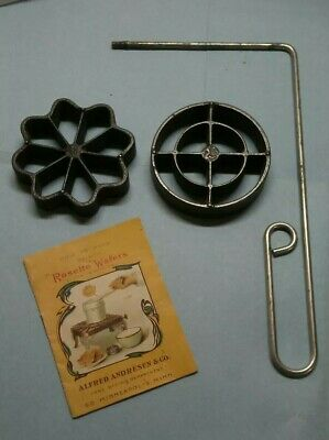 "1940s ALFRED ANDRESEN & CO ""ROSETTE""WAFER MAKER"
