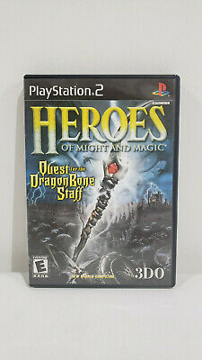 *NICE* Sony Playstation 2 PS2 Heroes Of Might And Magic Game Complete *USED*