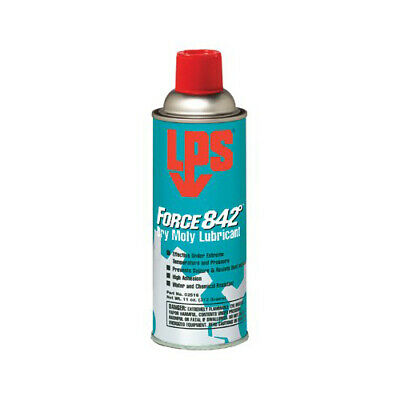 12 Cans - Dry Moly Lubricant Aerosol Can High Temperature Force 842° LPS 02516