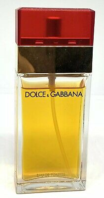 0727a03960af Dolce & Gabbana Red 1.7 fl oz Womens Eau De Toilette Perfume Spray 80 % Full