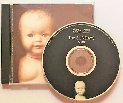 The Sundays Blind 1992 Music CD Alternative Rock