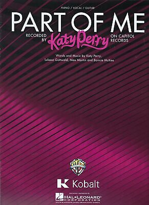 Katy Perry Part of Me Sheet Music