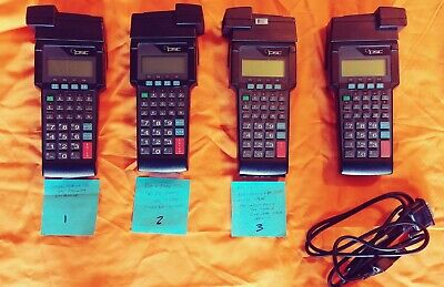 Lot of 4 Percon PT2000 Portable Handheld Data Terminal Barcode Scanner - Parts