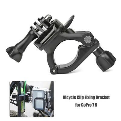 Long Rod Tube Fixed Seat Bicycle Clip Mount Fixing Bracket for GoPro 7 6