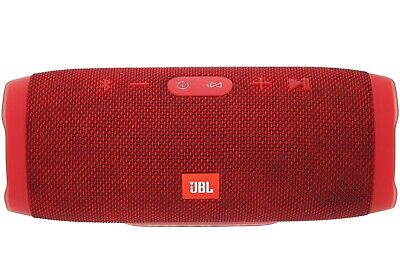 JBL Charge 3 Wireless Waterproof Speaker Portable Red Used!
