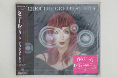 CD CHER Greatest Hits WPCR10614 WEA JAPAN OBI PROMO SEALED