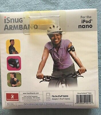 Isnug Armband For The Ipod Nano New and Sealed In Box.