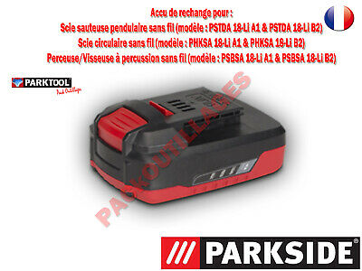 PARKSIDE® Batterie Lithium-ions 18 V  Voir description pour compatibilité !!