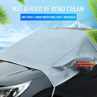 Car Windscreen Mirror Shield Cover Frost Ice Snow UV Sun Dust Screen Protector
