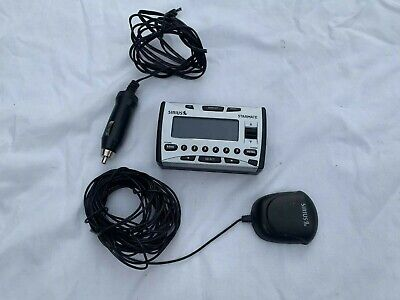 Sirius Starmate Satellite Radio Receiver Sir-St1 Could Be Lifetime Subscription