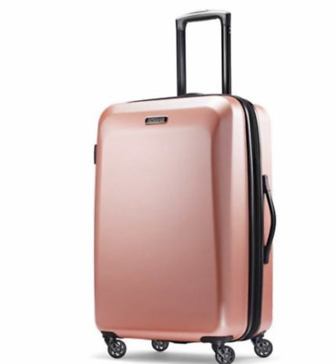"American Tourister Moonlight 21"" Carry on Spinner Rose Gold 92504-4357"