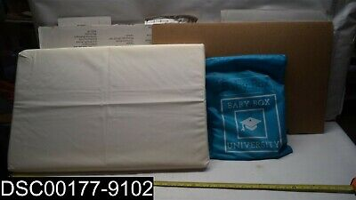 DAMAGED: The Baby Box Co. Safe Baby Sleeping Box with Accessories