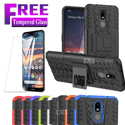 For Nokia 4.2 Nokia 3.2 Shockproof Heavy Duty Rugged Hybrid Bumper Case Cover