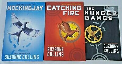 HUNGER GAMES Trilogy Mixed Book Set Hard Cover Suzanne Collins