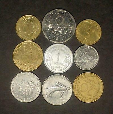 Small lot of coins from France (40g)