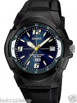 MW-600F-2A Blue 10-Year Battery Life Japan Movt New Genuine Casio Resin Watches