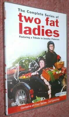 Two Fat Ladies - The Complete BBC Series (DVD 4-Disc Set) Jennifer Paterson Rare