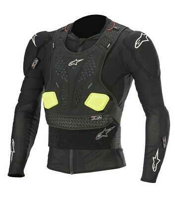 Alpinestars Bionic Pro V2 Protection Jacket Body Armour Suit Mx Enduro New Black