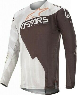 2020 Alpinestars Techstar Factory Metal Grey Black Motocross MX Jersey