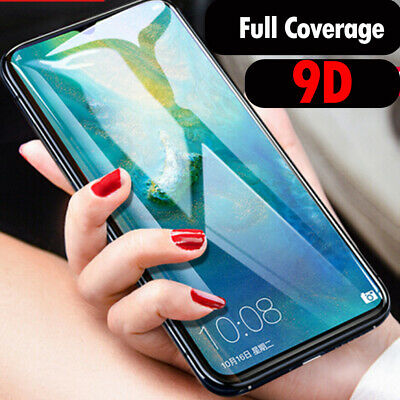 For Huawei P30 Pro/Lite 9D/5D Curved Tempered Glass Screen Protector Guard 2019