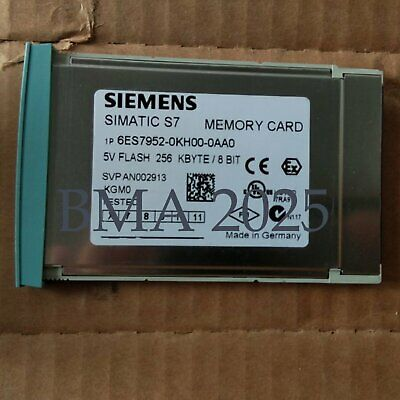 Used 1Pc Siemens 6ES7 952-0KH00-0AA0 6ES79520KH000AA0 Tested Good OK