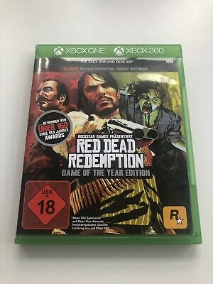 Red Dead Redemption Game of The Year - wie Neu - Xbox One