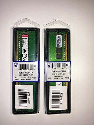 Kingston 16G PC4-2400 ECC RAM KVR24R17D8/16