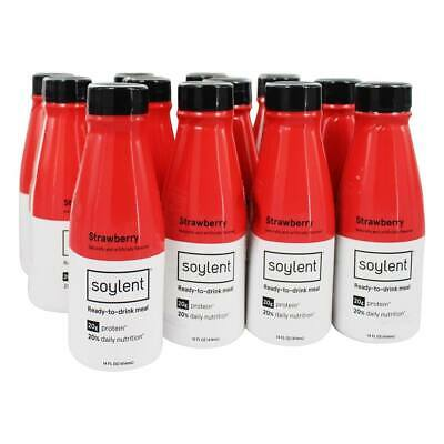 Soylent - Ready-To-Drink Meal Case Strawberry - 12 Bottle(s)