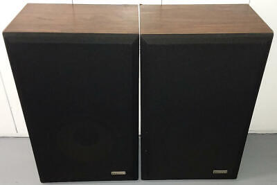 Vintage Pair of Fisher DS-152 3 Way Speakers System