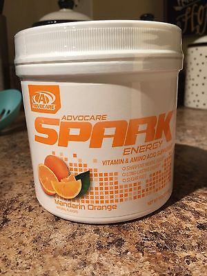 Advocare Spark Mandarin Orange 42 canister Amino Acid *QUICK SHIPPING*