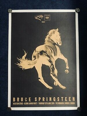 Bruce Springsteen Western Stars Album Launch Limited Edition Print