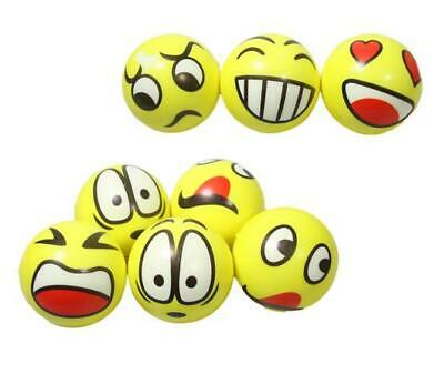 New Emoji Soft Stress Reliever Toy Childrens Adults Stress Relief Squeeze Ball