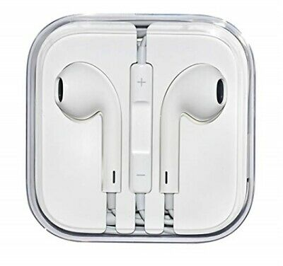 Apple Genuine Earphones First Generation White New With Aux