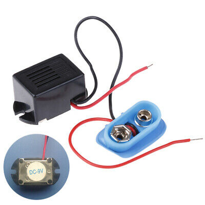 Mechanical buzzer 9V with lead vibrating buzzer 22x16x14mm with battery holderIU
