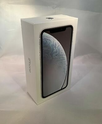 Apple iPhone XR 64GB White AT&T - BRAND NEW + Not Activated