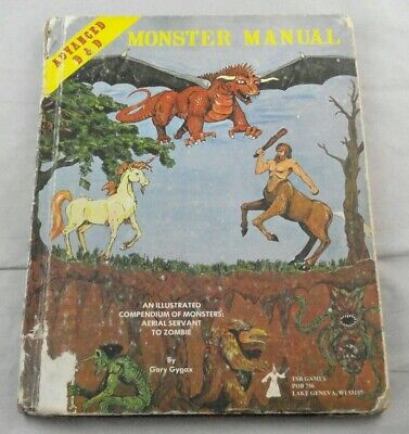 Advanced Dungeons & Dragons Monster Manual TSR2009 AD&D 1979