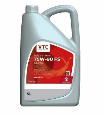 Genuine Vauxhall Trade Club 75W-90 5ltr Fully Synthetic Gear Oil GL-4