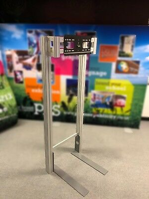 Exhibition Stand Freestanding TV Display Unit